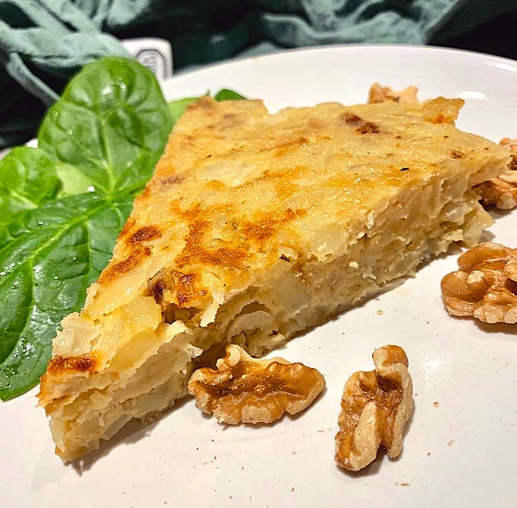 Spaanse zoete aardappel tortilla
